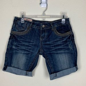 1sts Kiss- Denim Bermuda Shorts size 3